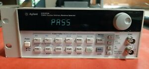 33120a 15mhz Function arbitrary Waveform Generator With Opt 001 Tcxo No Returns