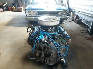 1973 Dodge 440 Engine Complete Running Low Miles Mopar Big Block Plymouth