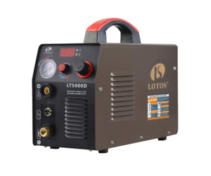 New Sealed Lotos Lt5000d Plasma Cutter 50 Amp Dual Voltage Compact Metal Cutter