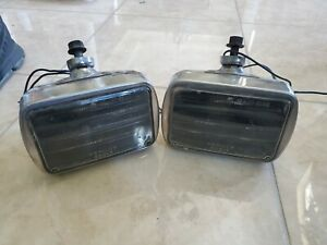 Vintage Per Lux Fog Driving Lights