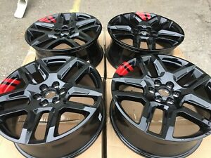 20 Chevy Traverse 2019 2020 Oem Redline Red Line Wheels Rims Set New 5849 5898
