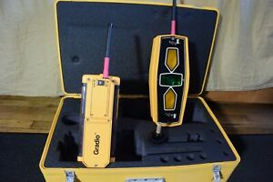 Trimble Spectra Precision Laser Receiver Set Gradio Rts2 5 Dr2 5 Never Used