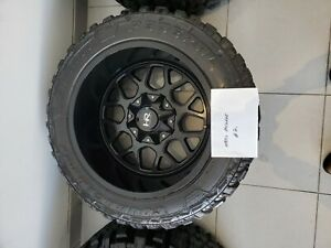 Used Hardrock Wheels With Federal Couragia Mt 33 X 12 50r20lt