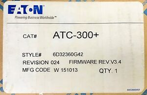 Eaton Cutler Hammer Atc 300 Automatic Transfer Switch Controller Atc 300