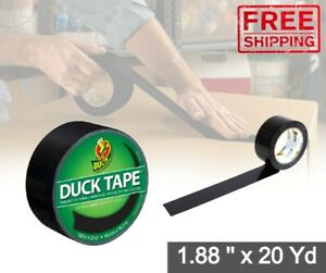 Black Duct Tape Crafts Waterproof Heavy Patch Industrial Insulation Adhesive