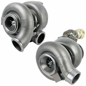 New Turbo Turbocharger W Gaskets For Cat C15 Acert High Low Pressure Compound
