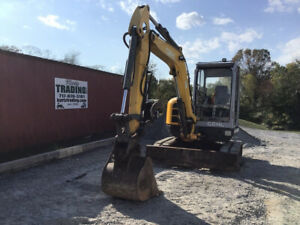 2007 Gehl 503z Hydraulic Mini Excavator W Cab Thumb Super Clean Only 400 Hrs
