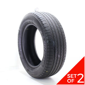 Set Of 2 Used 275 60r20 Michelin Latitude Tour Hp 114h 6 5 7 5 32