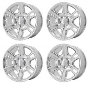 20 Dodge Ram 1500 2011 2018 Brand New Factory Oem Polished Wheels Rims Set 2561
