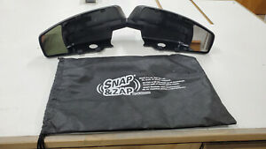 K Source 80910 Snap On Mirrors For Chevrolet Gmc Vehicles