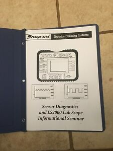 Snap On Sensor Diagnostics Lab Scope Information Booklet