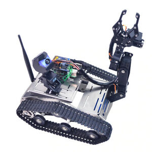 Robot Car Tank Kit With Arm For Arduino Mega Programmable Th Wifi Fpv Toy Gift