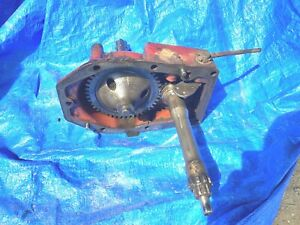 Farmall Ih Super A Tractor Power Take Off Assembly