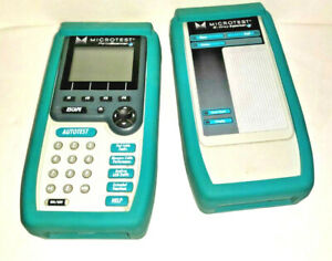 Microtest Pentascanner Cable Tester And Case