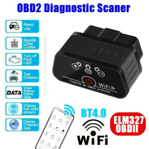 Mini Bluetooth Obd2 Scanner Obd Ii Car Diagnostic Scan Tool For Android ios Usa