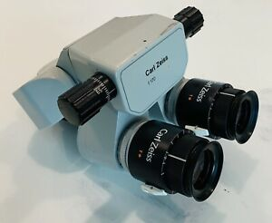 Zeiss F 170 T Binocular With 10x 22b T Eyepieces Opmi Surgical Microscope Head