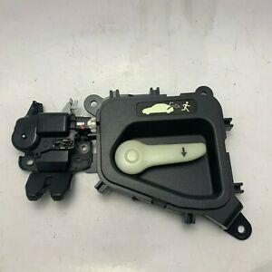 2005 2009 Subaru Legacy Sedan Oem Trunk Latch Lid Lock W Release Lever