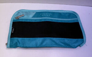 Mead Five Star Xpanz Carrying Case pouch For Pencil Pen Teal Green