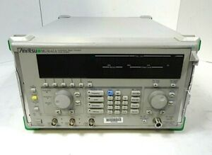 Anritsu Mg3641a Synthesized Signal Generator 125 Khz To 1040 Mhz Free Shipping