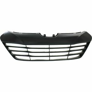 New Black Paintable Grille For 2010 2015 Hyundai Tucson Hy1200156 Ships Today