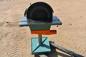 Used Conquest Industrial Disc Sander 20