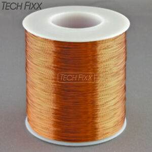 Magnet Wire 30 Gauge Awg Enameled Copper 2750 Feet Coil Winding 200c