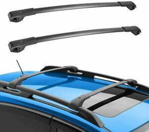 For 12 16 Subaru Impreza Fixed Roof Rack Cross Bars Set Luggage Carrier Aluminum