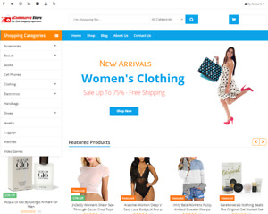 Drop Shipping ecommerce And Affiliate Website With 2000 Products free Hosting