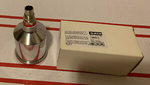 Sata Jet Qcc Aluminum Cup 15l All Jets Qcc Or Threaded Inlet Adapter W Both