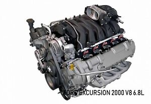 Ford Engine V10 6 8 L Gas Engine