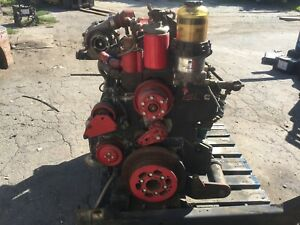 2000 International Dt466 Turbo Charged Diesel Engine