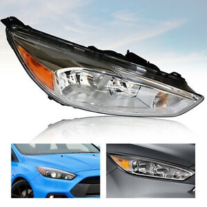 Chromed Right Side Headlight Front Headlamp For Ford Focus 2015 2016 017 2018 Us