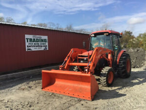 2011 Kubota L3940 4x4 Hydro Compact Tractor W Cab Loader Only 2800hrs