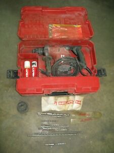 Hilti Rotary Hammer Drill Te 15 With Case And Bits