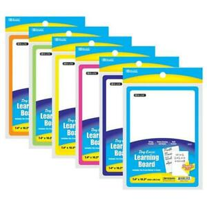 7 4 X 10 3 Double Sided Dry Erase Learning Board W Marker Eraser 1 pack