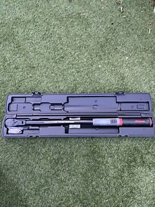 Snap On 1 2 Digital Torque Wrench 15 300ftlbs 100 Year Rare New Atech3f300va
