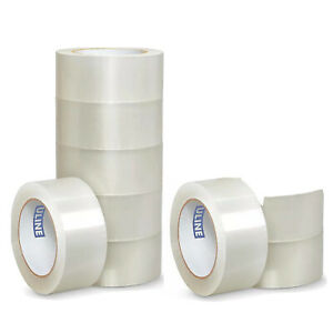 9 Uline S 423 2 X 110yds 2mil Packing Shipping Tape Rolls Nine Total