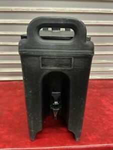 2 5 Gallon Cambro Insulated Hot Cold Drink Dispenser Beverage Nsf 250 Lcd 4900