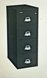 Fireproof Vertical File Cabinet 4 Legal Sized Drawers Usa Made By Fire King