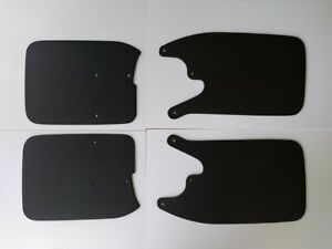 1995 2004 Toyota Tacoma 4x4 Prerunner Mud Guards Flaps Set With Oem Flares