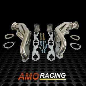 Stainless Steel Manifold Exhaust Headers Fits 1988 1995 Chevy Gmc Truck 305 350