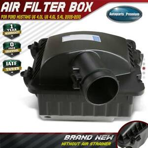 Air Cleaner Intake Filter Box Assembly For Ford Mustang 2005 2010 4 0l 4 6l 5 4l