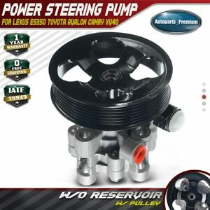 Power Steering Pump With Pulley For Toyota Camry Avalon 3 5l 2007 2008 2009 2010