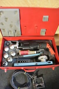 T drill T35 Copper Pipe T Forming Tool And Notcher 60 65 50 220v