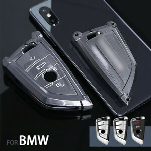 4 Buttons Alloy Car Key Case Cover For Bmw 1 2 5 7 M Series X1 X3 X5 X6 F15 F16