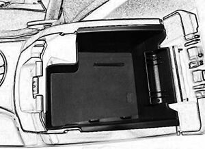 For 2013 2016 Ford Escape Center Console Tray Organizer Car Armrest Storage Box