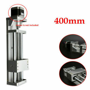 400mm Electric Sfu1605 Linear Rail Cnc Cross Sliding Stage Table Linear Module