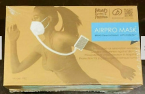 10 Packs Of Breathe Freely Broad Airpro Mask Powered Air purifying Respirator