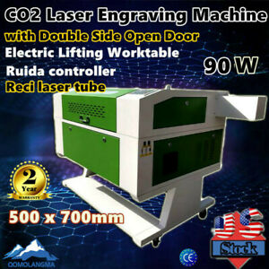 Us 20 X28 Reci 100w Co2 Laser Cutter Laser Engraver Electric Lifting Worktable