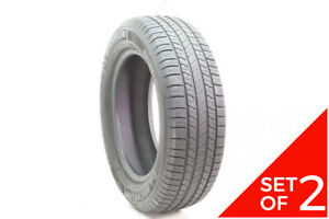 Set Of 2 Used 215 65r17 Michelin Energy Saver A S 98t 7 8 32